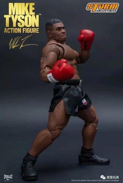 Tempestade Brinquedos Boxe Tyson Boxer Campeão de Boxe Mike Tyson Três Cabeça Rosto Modelo Collectible Modelo Brinquedos