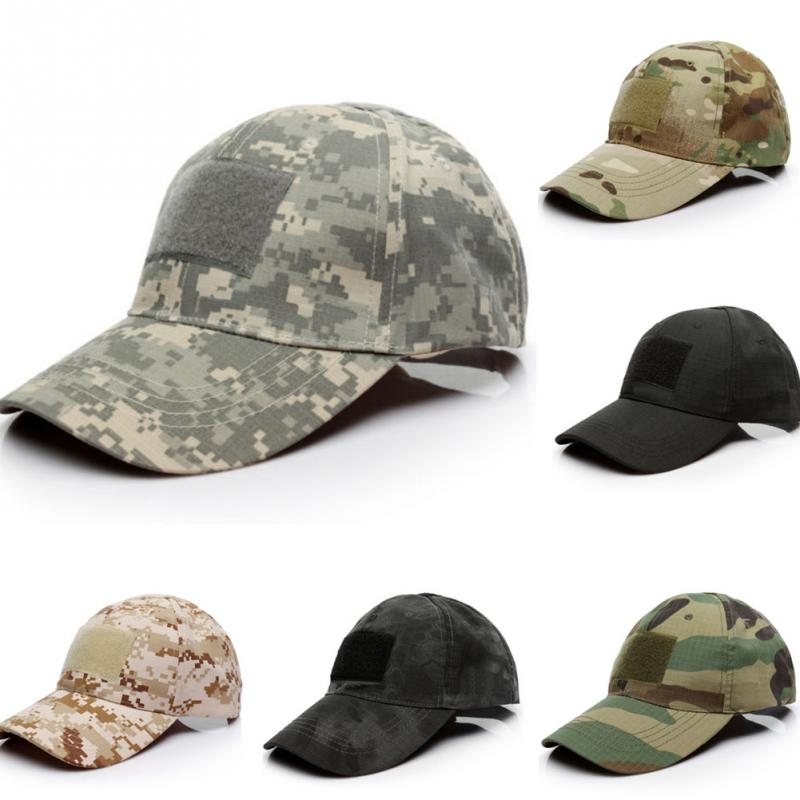 Camouflage Tactical Baseball Cap Snapback Patch Military Tactical Unisex Desert Camo Hats For Men Woman #137