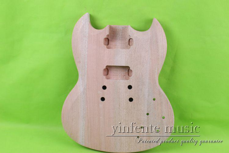 one 0010# unfinished  electric guitar body  mahogany made one 21 unfinished electric guitar body mahogany made