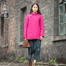 Китайский стиль Зима и Осень Одежда Высокого Качества для Женщин Парки Зимние Куртки Верхней Одежды Женщин Пальто