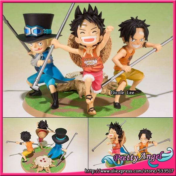 Anime japonais D'origine Bandai Figuarts ZERO ONE PIECE Action Figure-Luffy, Ace, sabo-Gikyoudai pas Yakusoku-