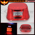 Red LED Crystal Tail light,Brake Light for Harley Davidson Road Glide FLTR EFI FLTRI Road King Classic FLHRC FLHR Dyna Fat Bob