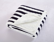 New Striped Men Thickening Knitting Throw Blanket for Bed/Home Sofa Cover Quilt Winter Thread Linens Navidad Bedspread