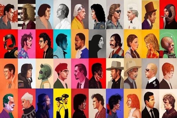 desenho-tv-filmes-de-quentin-font-b-tarantino-b-font-clint-eastwood-jim-carrey-atriz-sigourney-4'-tamanho-decoracao-de-casa-canvas-poster-print
