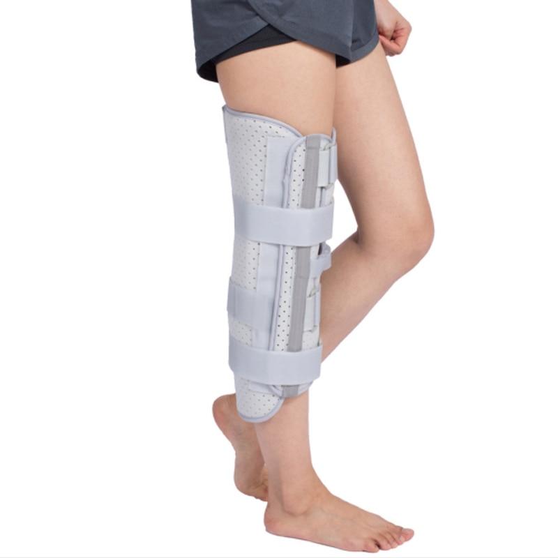 Новый медицинский Стабилизатор ремень обертывание коленный Бандаж регулируемый поддерживающий подтяжки и опоры с алюминиевой полосой