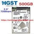 """HGST 500 ГБ 0.5 ТБ HDD ноутбука жесткий диск SATA3 SATA III 7200 об./мин. 32 М 2.5 """"7 мм одной плиты Z7K500 HTS725050A7E630"""
