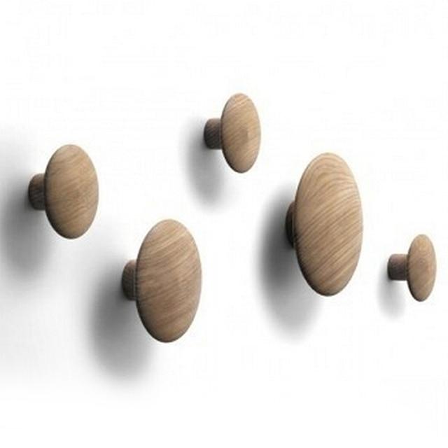 5 pieces for a lot Designers Wall Hanging Coat Racks Bedroom Living Room Modern Wood Hangers