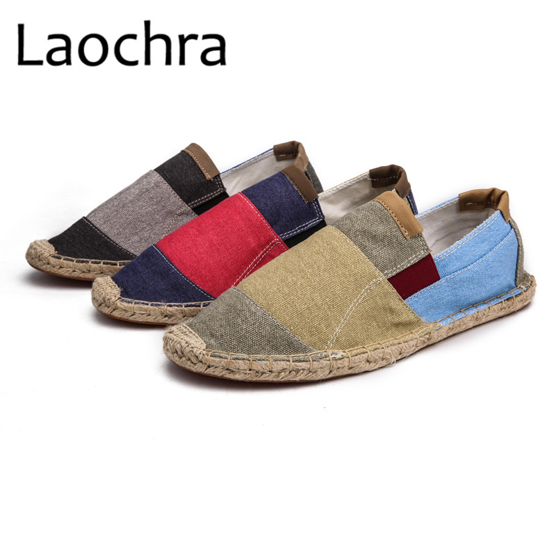 LAOCHRA Men Design Fishman Shoes Paris Famous Retro Style Espadrilles - Men's Shoes - Photo 5
