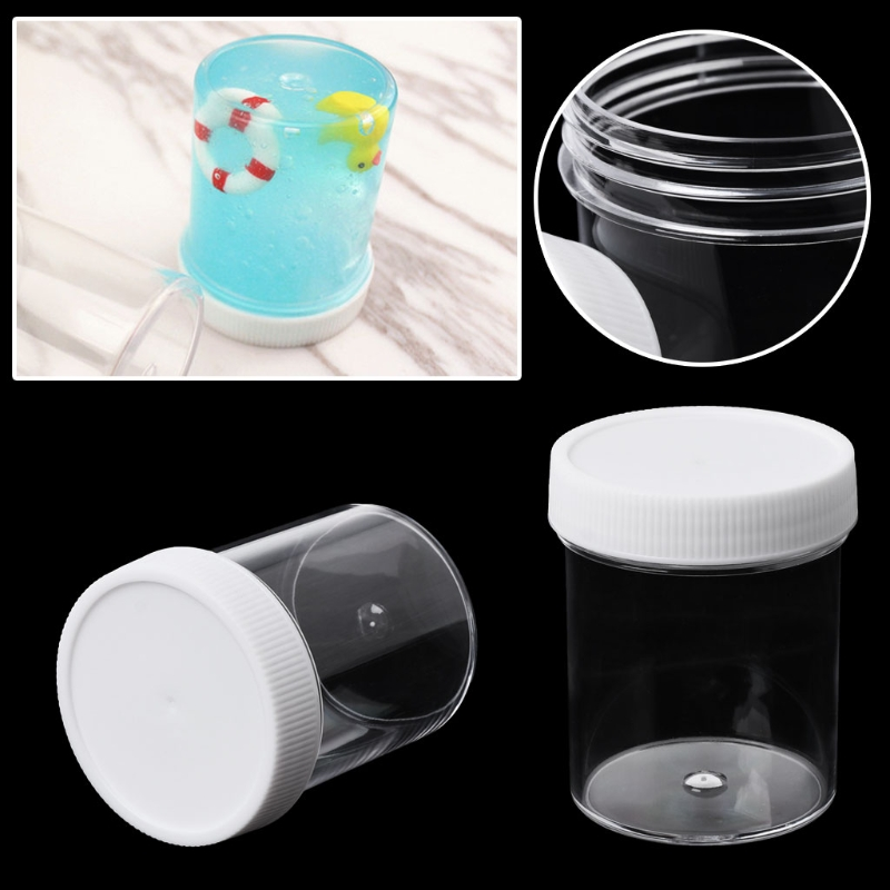 100ml Pp Storage Container Organizer Box For Foam Slime Mud Light Clay-w110 Non-Ironing Storage Boxes & Bins Home & Garden