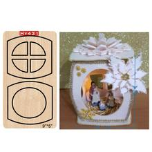 Christmas light Cutting Dies cutting dies 2019 new die cut &wooden Suitable for common machines on the market
