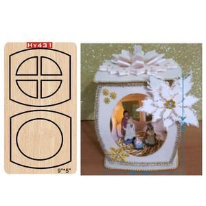 Image 5 - Troqueles de corte de Luz Navideña, troqueles de corte y troqueles de madera, adecuados para máquinas de troquelado comunes, 2019