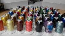 63 assorted machine threads