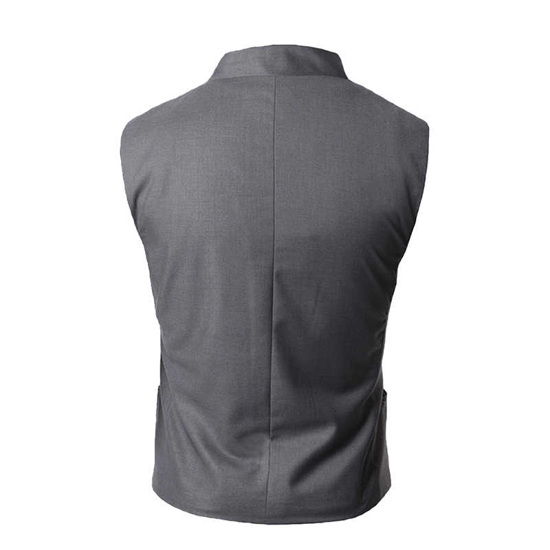 وصل حديثًا سترة رجالي على أحدث طراز سترة رجالي عالية الجودة باللون الأسود والرمادي ملابس رسمية مناسبة للرجال وسترة للرجال