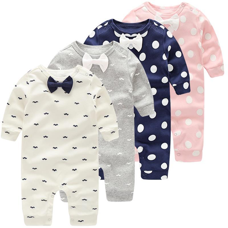 Newborn Round Collar Rabbit Long Sleeve Playsuit 100/% Cotton Suit 6-24 Months