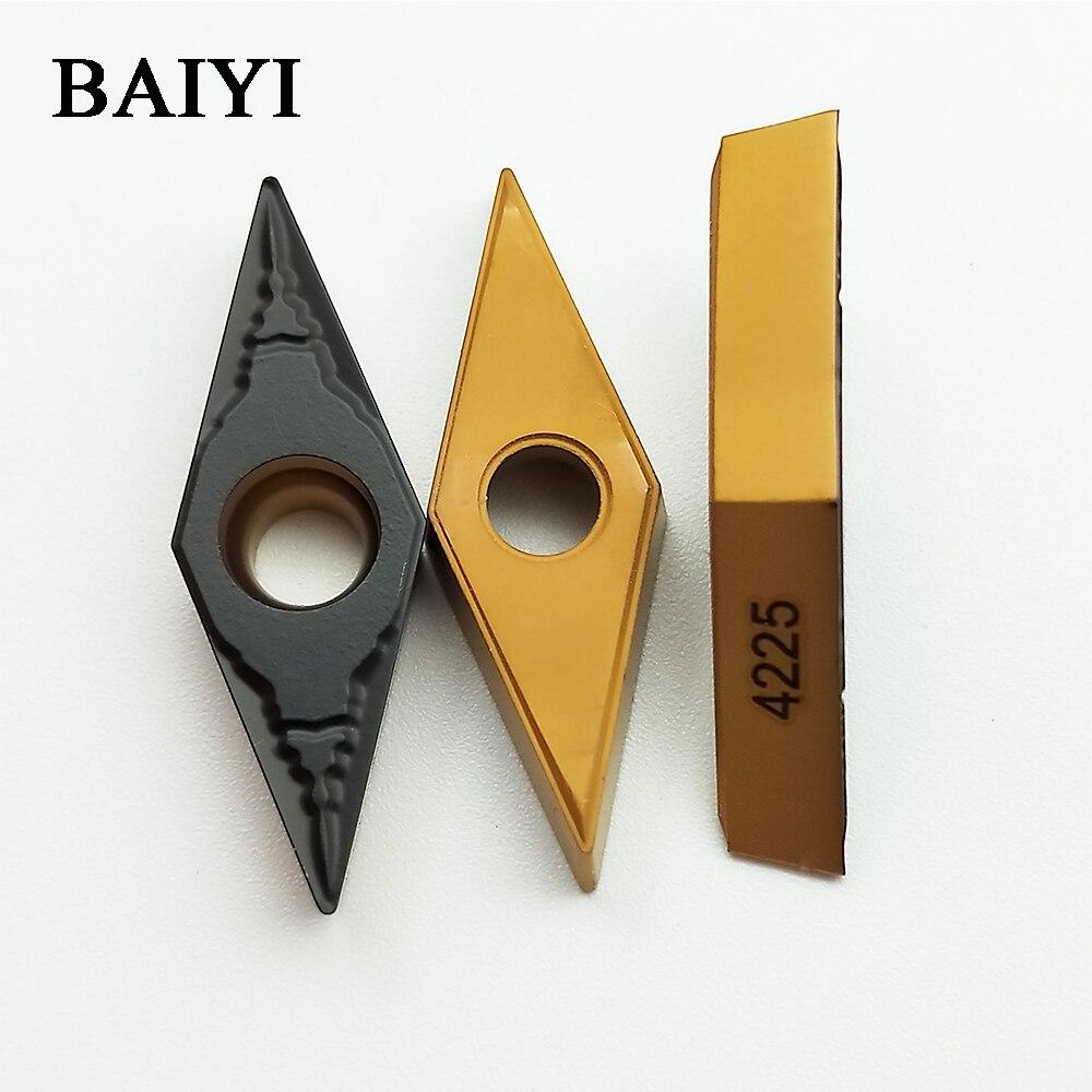 10p VBMT160404-HQ US735 VBMT331-HQ CNC Carbide insert milling balde turning tool