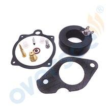 689-W0093 комплект для ремонта карбюратора для лодочного мотора Yamaha 2T 25HP 30HP 689-W0093-02 689-W0093-00