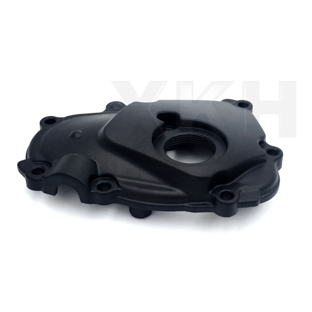 Aftermarket free shipping motorcycle parts Right Side Engine Crankcase Cover Ignition Trigger For 2003-2005 Yamaha YZF-R6 Black aftermarket free shipping motorcycle parts eliminator tidy tail fit for 2006 2012 yzf r6 yzf r6 yzfr6