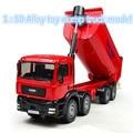 Frete grátis! 1: 50 liga carro deslize brinquedo de construção de modelos de veículos, modelo de caminhão de descarga, favorito das Crianças