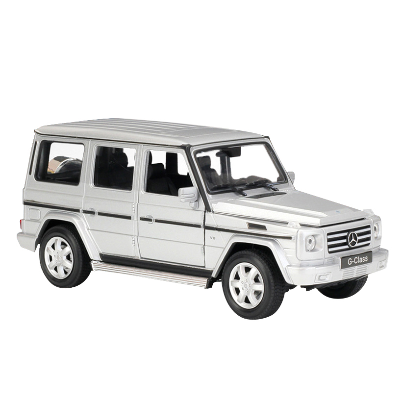 1:24 G500/G-Class SUV Toy Vehicles Alloy Automobile Model Toy Car Simulation Pull Back Children Toys Collection Gift Off-Road 1 32 suv ml63 simulation toy car model alloy pull back children toys genuine license collection gift off road vehicle kids toy