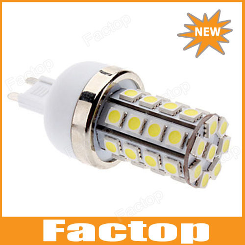 G9 7W 36x5050 SMD 700-750LM 6000-6500K Natural White Light LED Corn Bulb (85-265V)
