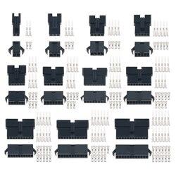 20 компл./лот соединитель M2/3/4/5/6/7/8/9/10/11/12 штырьковый шаг 2,54 мм женский и мужской корпус + клеммы SM-2P JST SM2.54