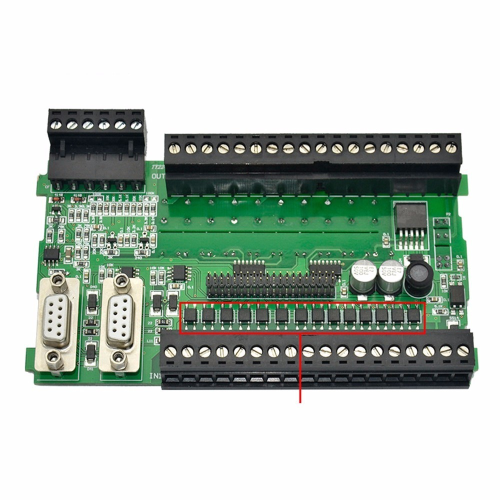 Compatible Domestic PLC S7-200 CPU224XP Programmable Controller Industrial Control Board Relay science