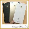 Original tampa traseira da bateria para huawei p9 lite g9 lite peças de habitação back door caso do telefone móvel, preto/Branco/Cor Dourada