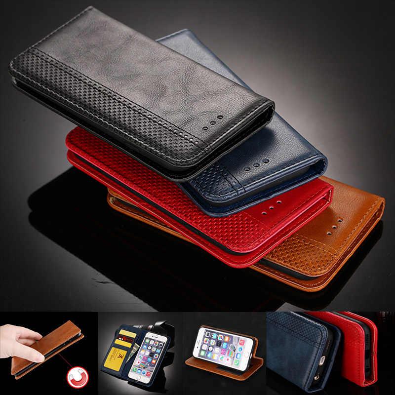 Luxus Leder Brieftasche Flip Phone Cases Für BQ Aquaris U2/X2 V X M5 5057 5070 5058 Fall Brieftasche magnetischen Flip Fall Coque Funda