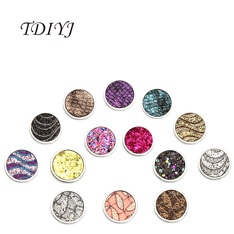 TDIYJ Hot Selling 33mm Sparkling My Coin Disc For Frame Holder Pendant 14 Designs To Choose 1Pcs