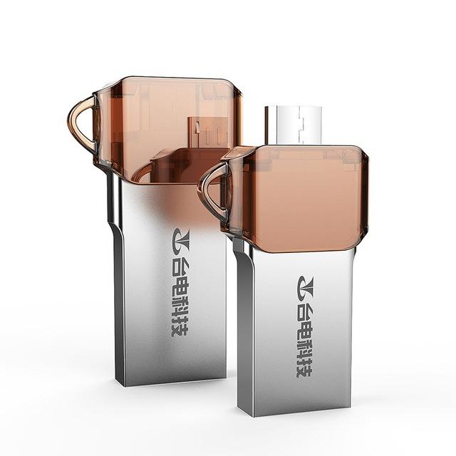Teclast Unidad Flash USB OTG para el Teléfono Android Tablet PC 64 GB Enchufe de doble Memoria USB USB3.0 64 GB U Disco Memory Stick Impermeable