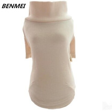 BENMEI Warm Sweater Winter Cotton Cat Hoodies Sweatshirt Pet Coat Jacket Clothes for dogs roupas para cachorro Pet Dog Clothes
