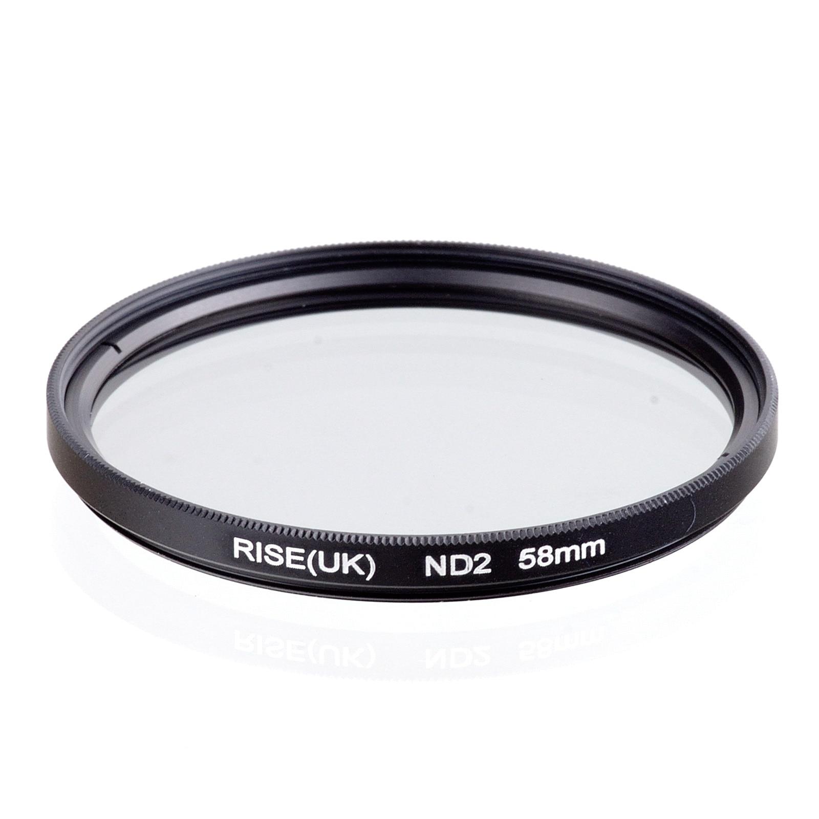 NAIK UK 58mm Kepadatan Netral ND2 Filter UNTUK SEMUA lensa Kamera hot sale gratis pengiriman