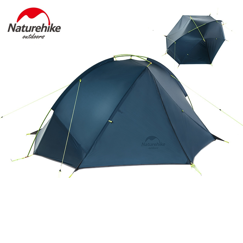 Naturehike 2 Person Hiking Tent Pro 20D Silicone Fabric Waterproof Single Pole Light Tent NH C&ing Cycling Backpacking-in Tents from Sports ...  sc 1 st  AliExpress.com & Naturehike 2 Person Hiking Tent Pro 20D Silicone Fabric Waterproof ...