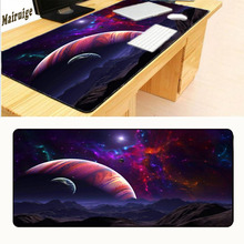 Mairuige Earth Planet Big Size Speed Keyboard Mouse Pad Rubber Mat Computer Gaming Mousepad Gamer for Large Size Table Mouse Mat mairuige uzumaki naruto and uchiha sasuke jiraya anime roles mousepad diy mouse mat supper large of size gaming rubber mouse pad