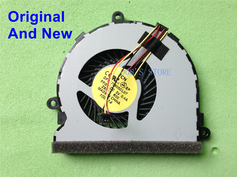 New CPU Cooler Fan For <font><b>Dell</b></font> Inspiron 15R 3521 3721 5521 5535 5537 5721 Vostro 2521 Latitude <font><b>3540</b></font> DFS470805CL0T FFG7 753894-001 image