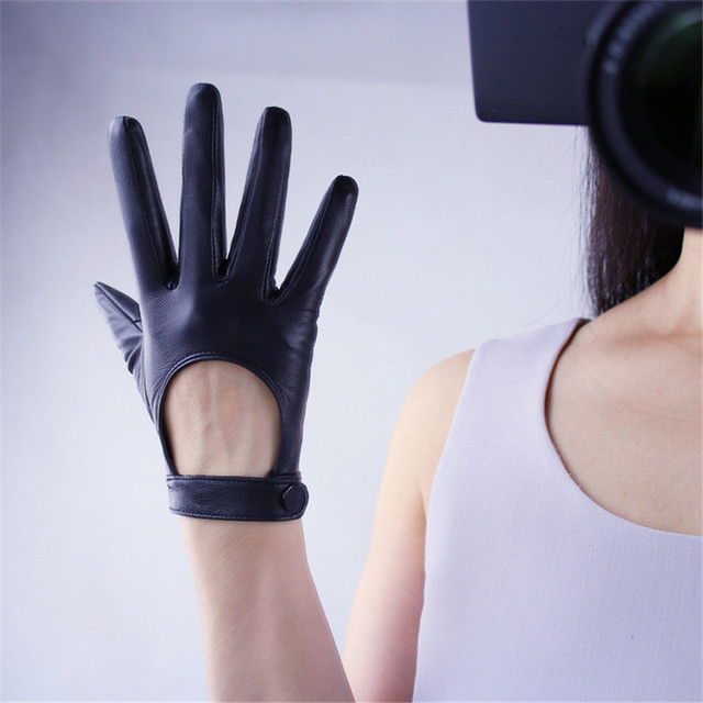Touchscreen Genuine Leather...