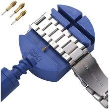 Горячая Распродажа! Ремешок для часов, инструмент для регулировки, щелевой ремешок, браслет, цепь, штифт для удаления, ремешок для часов, регулятор, набор инструментов для ремонта, аксессуары для часов