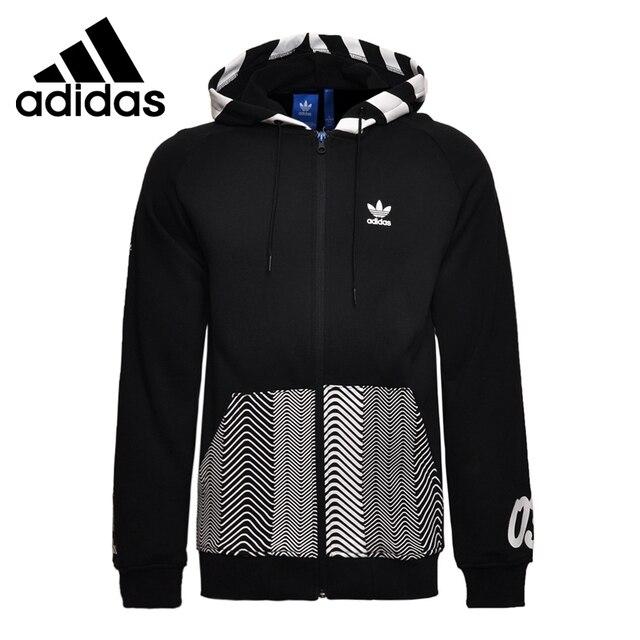 24bf160f Оригинальный Новое поступление 2017 adidas Originals Толстовка NY логотип  Для мужчин куртка с капюшоном Спортивная