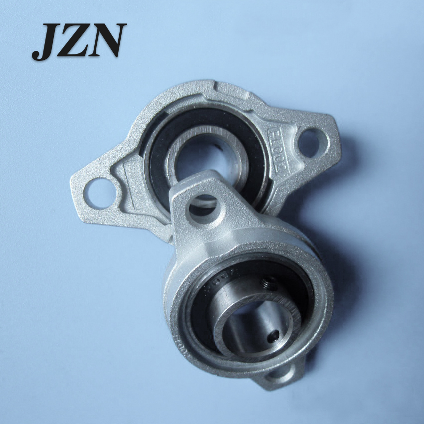 2PCS Zinc Alloy Pillow Block Flange Bearing Inner Diameter Machinery Seat Belt Bearing KFL08 KFL000 KFL001 KFL002 KFL003