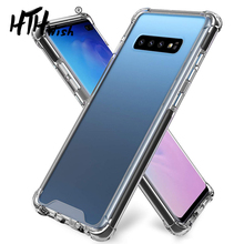 TPU cover for samsung s 10 9 8 case galaxy s8/s10/s9 screen protector 10/9/8 plus
