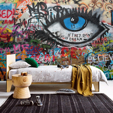 цены на Free shipping Large mural graffiti wall KTV Bar Lounge Cafe living room bedroom backdrop wallpaper retro nostalgia  в интернет-магазинах