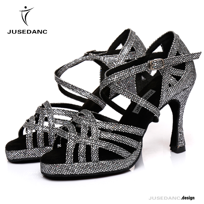 Jazz Dance Sneakers Dance Sandals High Heels Dancing Shoes Dance Women Tango Shoes With Platform Comfortable And Soft JuseDanc