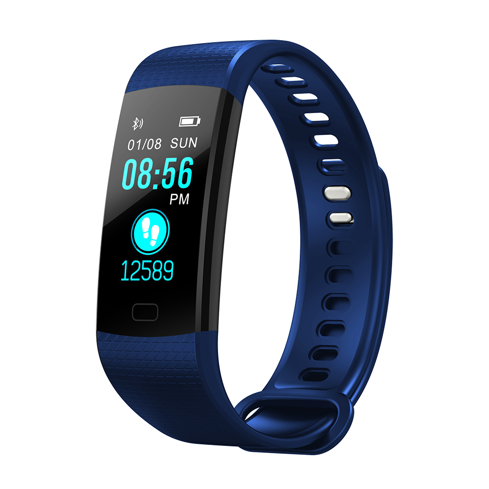 2018 Smart Wristbands IP67 Waterproof Fitness Bracelet Heart Rate Monitor Fitness Bracelet Band 2 for xiao mi android IOS Phone