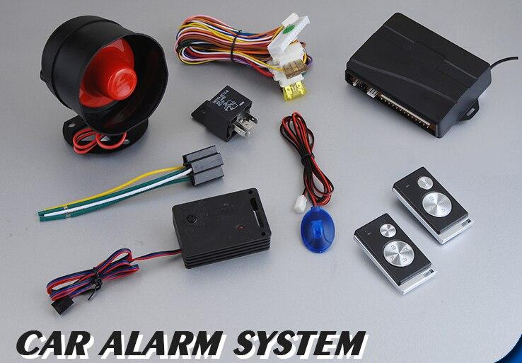 Système D'alarme De Voiture De Contrôle à distance À Distance Bras Central Serrure De Porte Automatique avec Capteur de Choc