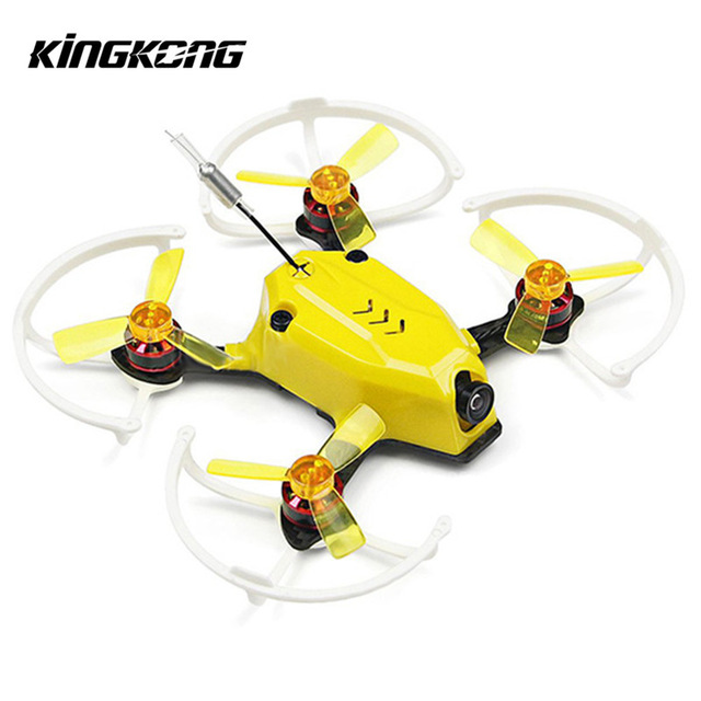 Oryginalny Kingkong 95GT 95mm Wycigi FPV Drone z F3 4w1 Blheli_S 10A 25 mW 16CH 800TVL BNF ARFOryginalny Kingkong 95GT 95mm Wycigi FPV Drone z F3 4w1 Blheli_S 10A 25 mW 16CH 800TVL BNF ARF