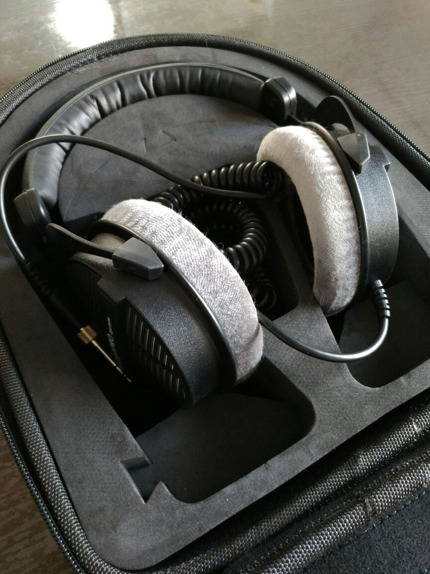 Vmota Headphone box untuk Sony MDR-Z7 dan Beyerdynamic DT880 pro / - Audio dan video mudah alih - Foto 2