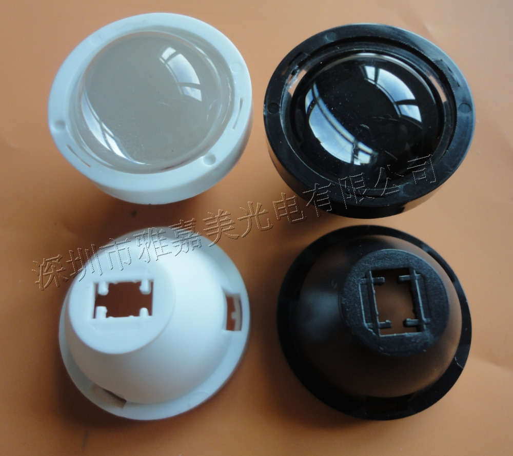 CREE Lens Diameter 23.5mm (glass Convex Lens + Holder) 5 Degrees Condenser Lens  , XLamp XPG LED Lens