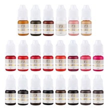 купить Semi Permanent Makeup Eyebrow Ink Lips Eye Line Tattoo Color Microblading Pigment MH88 по цене 131.99 рублей
