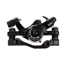 MTB Mountain Folding Bike Mechanical Caliper Front / Rear Disc Brakes Freno de disco Frein a disque starpad for xinyuan accessories x2x front disc brakes front and rear sheet for xinyuan x2 x2 x2x brakes 4