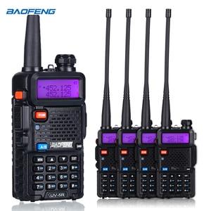 Image 4 - BaoFeng UV 5R Walkie Talkie Two Way Radio upgrade version baofeng uv5r 128CH 5W VHF UHF 136 174Mhz & 400 520Mhz